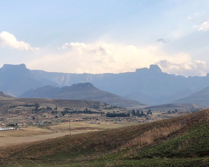 The Drakensberg is a popular destination in South Africa.