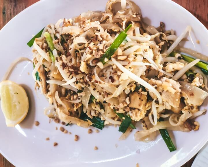 Don't miss relishing in delicious Pad Thai when visiting Ao Nang.