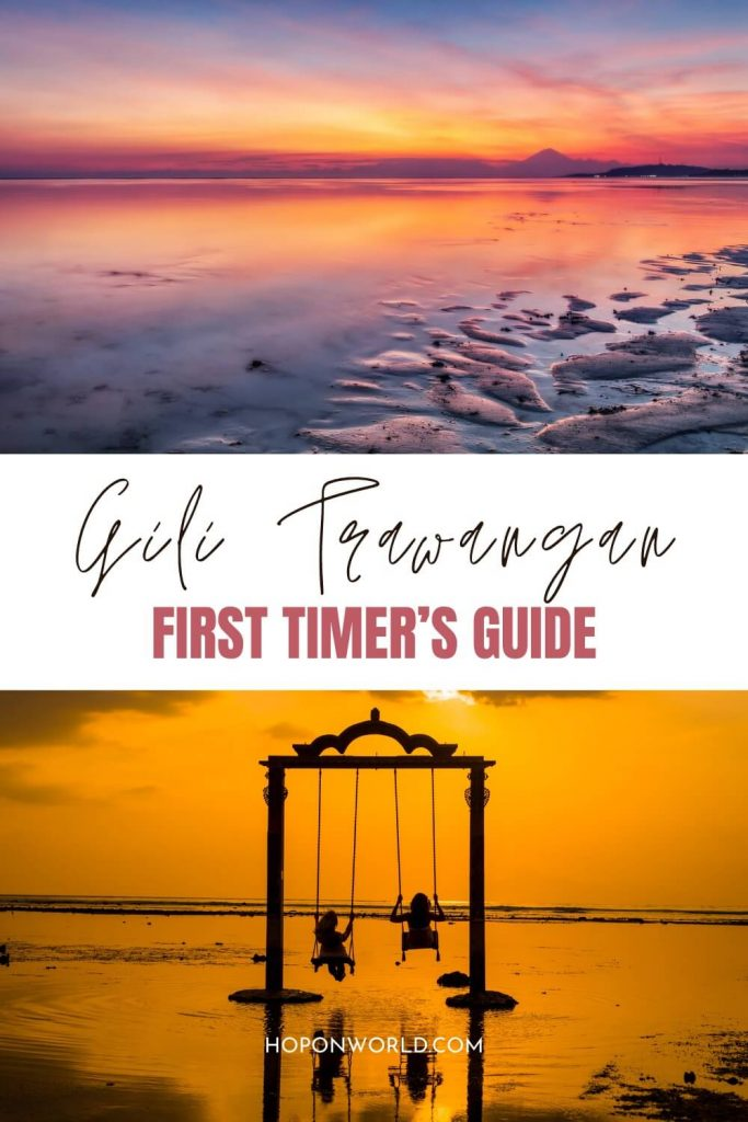 Planning an island getaway to the Gili Islands? Discover the ABSOLUTE best things to do in Gili Trawangan here! From lounging on gorgeous beaches to swimming with turtles to epic beach parties, Gili T has something for everyone! Gili Trawangan Things to do | How to Get to Gili T | When to Visit Gili T | Where to Stay in Gili Trawangan | Gili T Nightlife | Gili Trawangan Snorkeling | Gili island hopping | Gili Sunset Swings | #giltrawangan #gilitbali