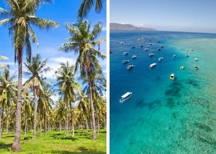 Home to palms and beautiful waters it's not hard to see why Gili Trawangan is a must-visit place.