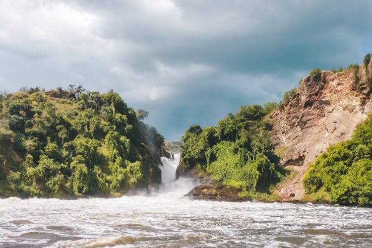 The incredible Murchison Falls has to be on your list of places to see in Africa.