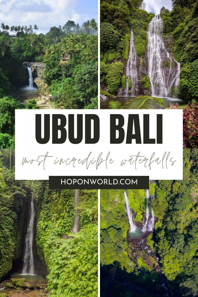 Looking for the best waterfalls in Bali? These 8 AMAZING Ubud Waterfalls have it all - from epic scenery to dreamy pools to cool off in to stunning photo ops and more! Get all the tips you need to visit Ubud's best waterfalls here! Ubud waterfalls | Ubud waterfalls tour | Ubud waterfall Bali | Bali waterfalls | Bali waterfalls Ubud | Tegenungan Waterfall | Leke Leke Waterfall | Tibumana Waterfall | Nungnung Waterfall