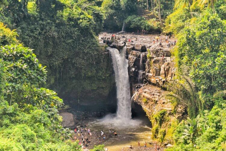 Tegenungan is one of the most popular waterfalls in Ubud.