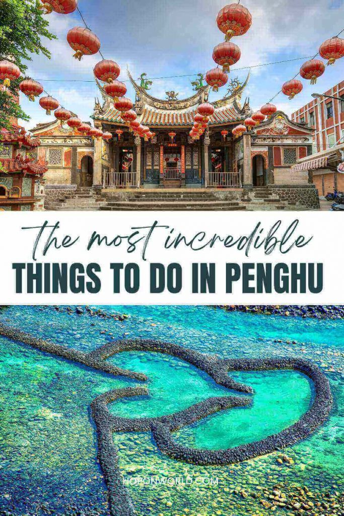 Headed to Taiwan's dreamy Penghu Islands and wondering what to do? Penghu is a fascinating destination with loads of EPIC things to do - from hitting white sandy beaches, to island hopping to exploring the geological and historical sites! penghu taiwan   things to do in Penghu   penghu island taiwan   taiwan islands