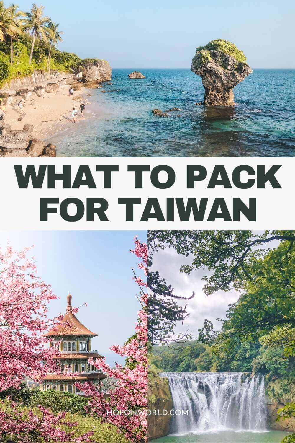 Wondering what to pack for Taiwan? Follow my super detailed Taiwan packing list to help you figure out what you need to bring and what you can leave at home. | taiwan packing list | taiwan travel